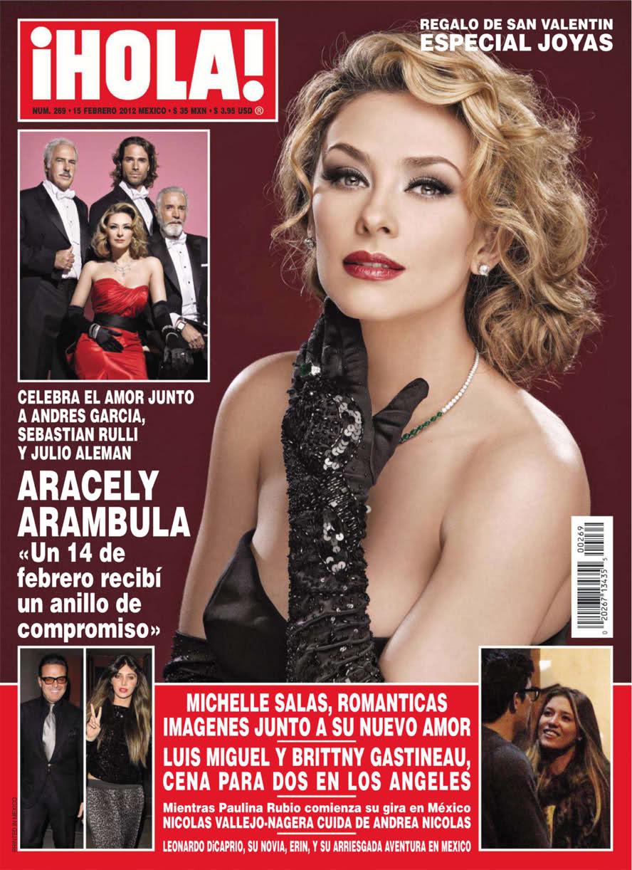 Revista Hola Arambula Embarazada
